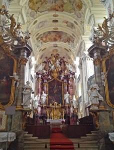 Hochaltar der Klosterkirche Schöntal