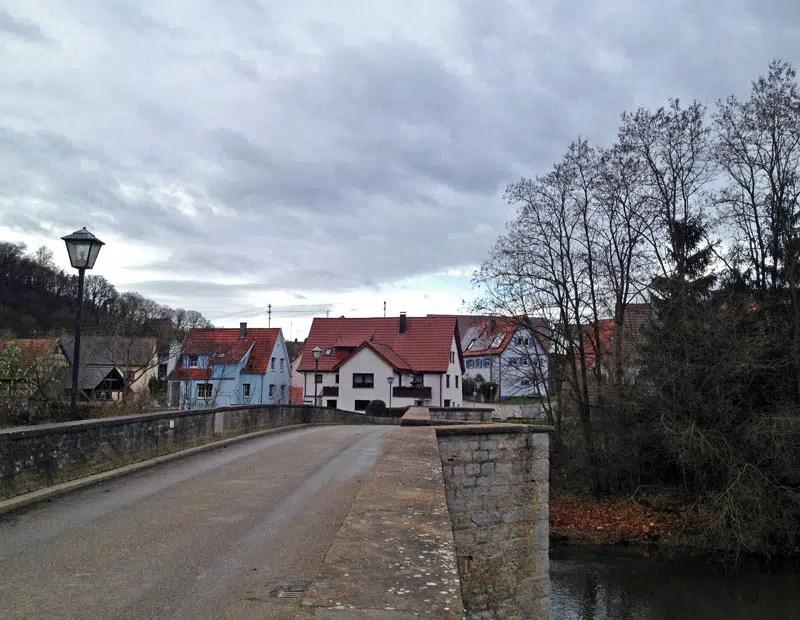 Historische Steinbrücke Jagsthausen