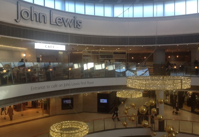 New John Lewis Tearoom