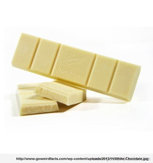 White Chocolate is not Chocolate