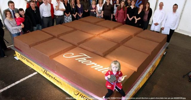 World's biggest chocolate bar