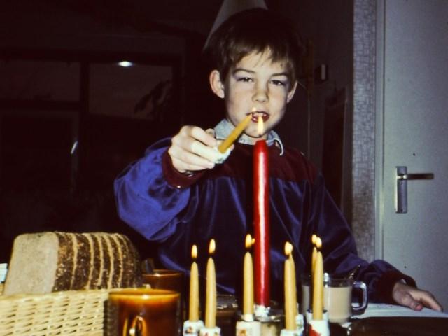 Milieuvriendelijk kaarsen branden