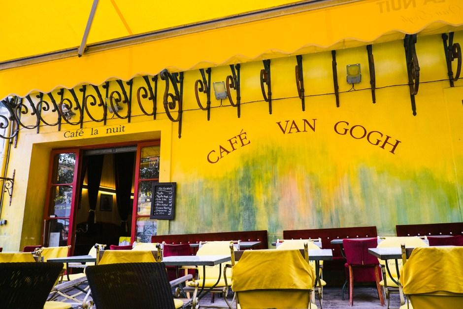 Café Arlés Van Gogh
