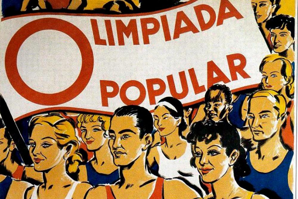 Cartel Olimpiada Popular