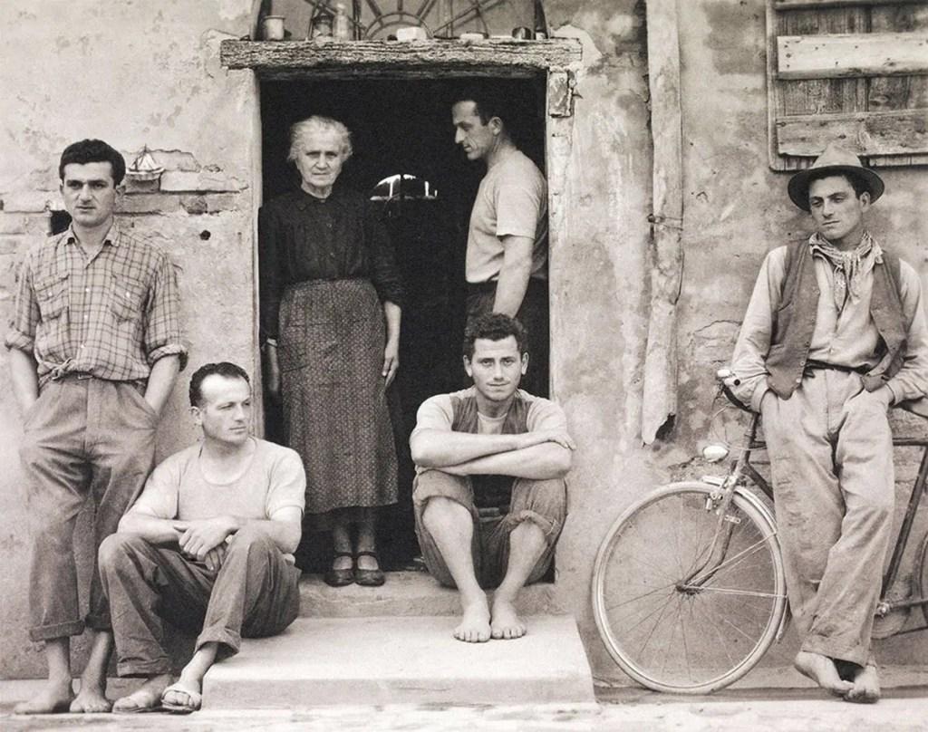 La familia, Luzzara de Paul Strand