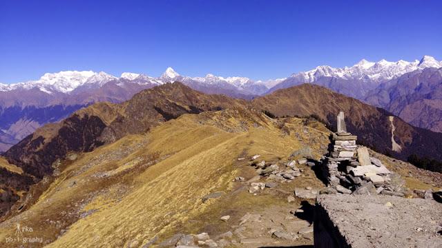 Kuari Pass and Pangarchulla trek, Himalaya, Uttarakhand, India