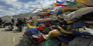 Prayer Flags On the Srinagar Leh highway- June 2017