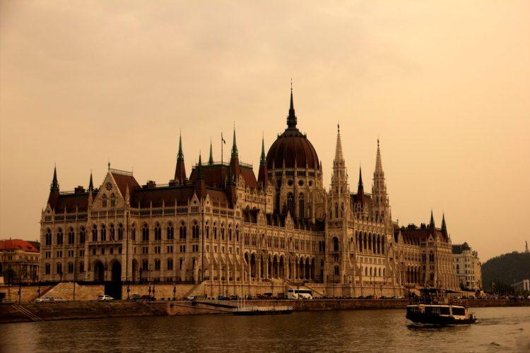 Danube River Cruise, Budapest, Hungary