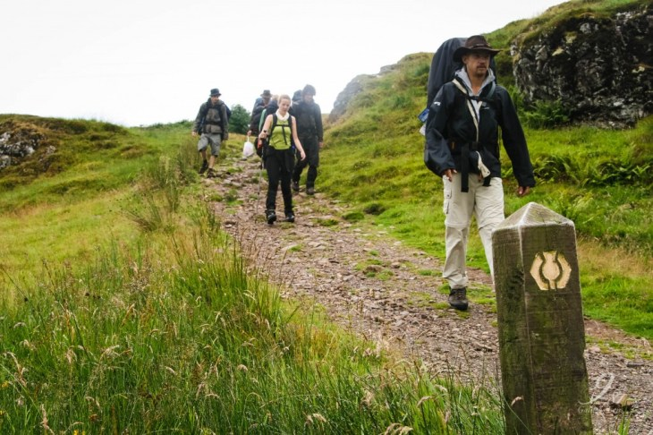 Wegwijzers West Highland Way
