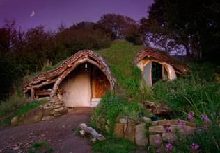 Tiny House Movement - Belgium - Hobbit stijl
