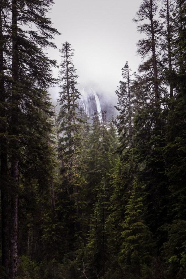 Della Falls on Vancouver Island, Canada