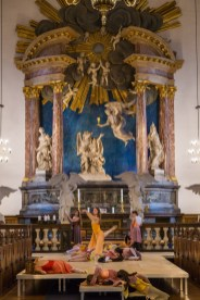 Stadswandeling Kopenhagen - ballet in kerk