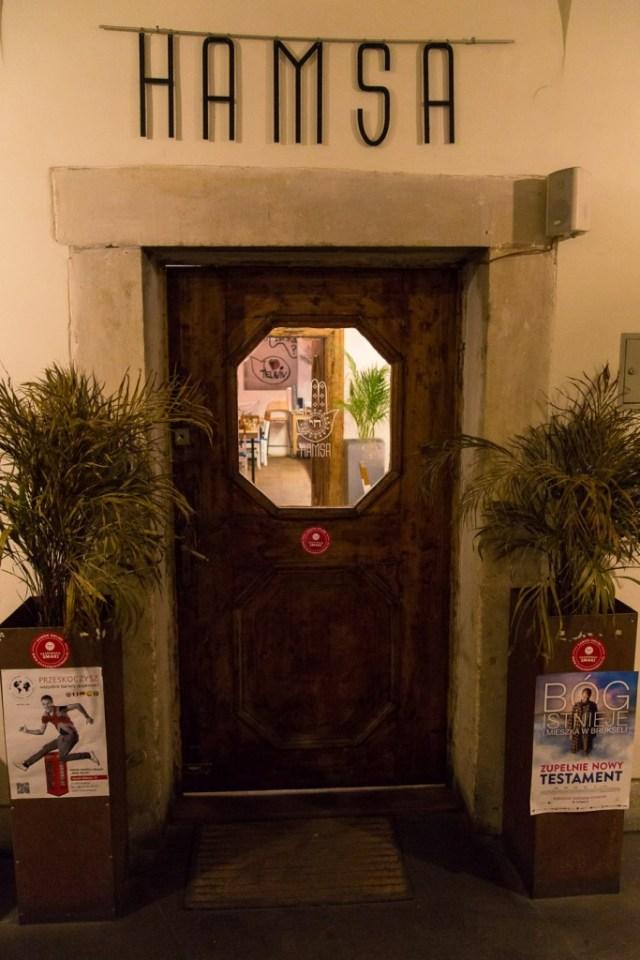 Krakau - Hamsa deur
