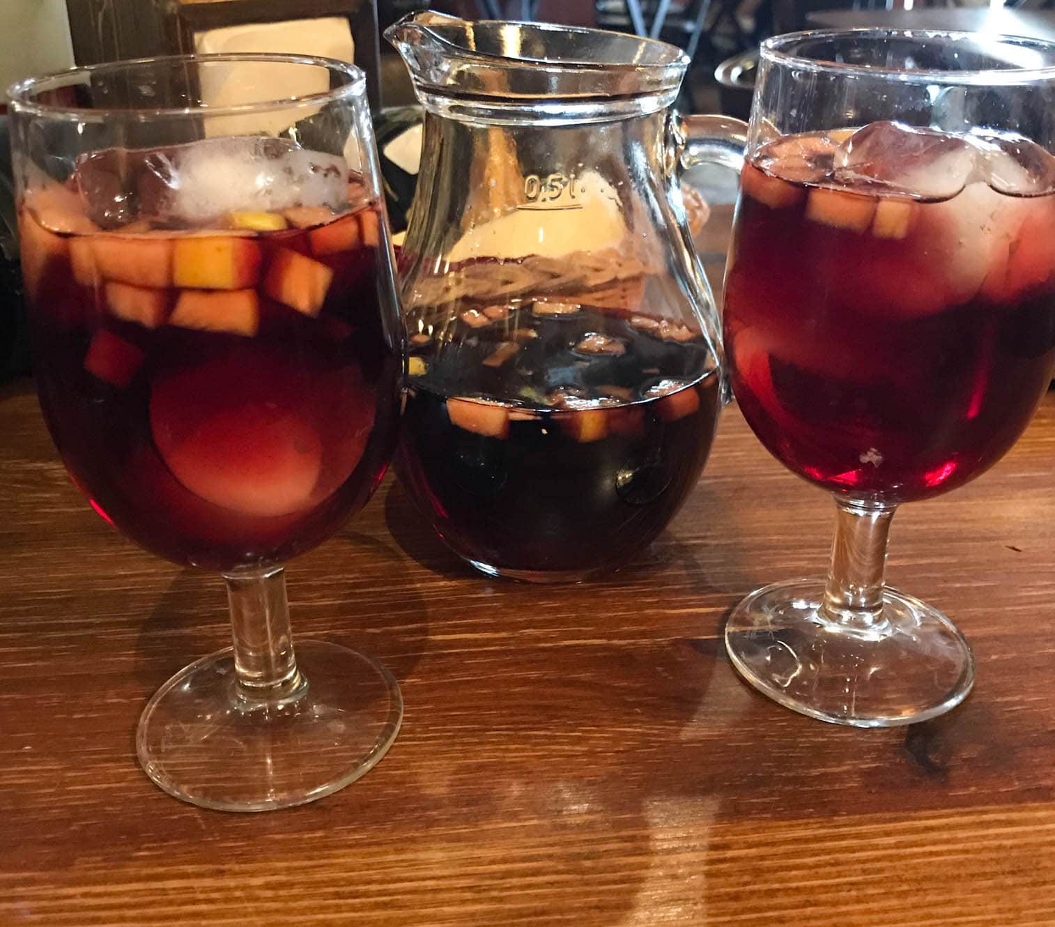Sangria in Spain Dining Abroad