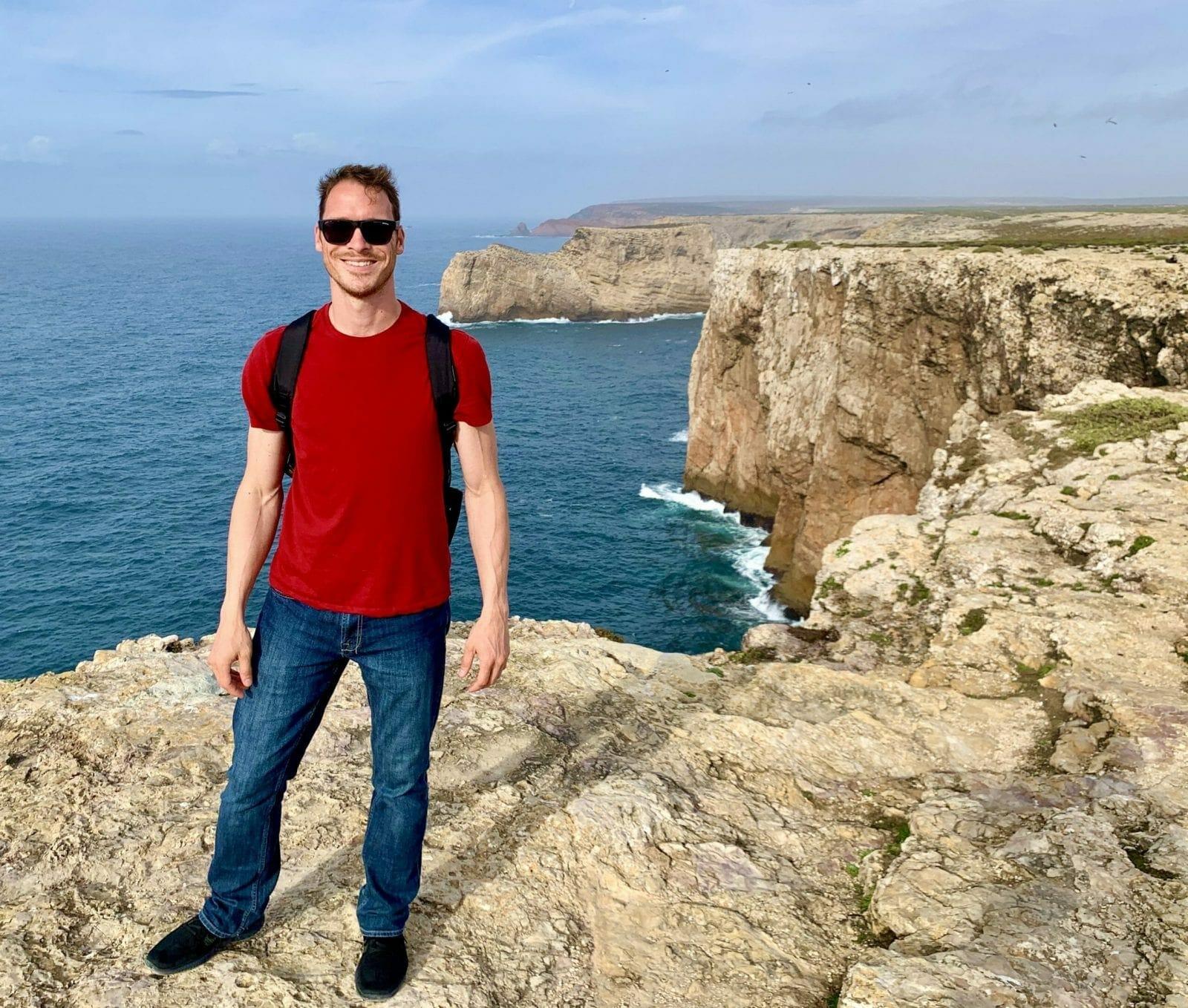 Ryan on Algarve Coast