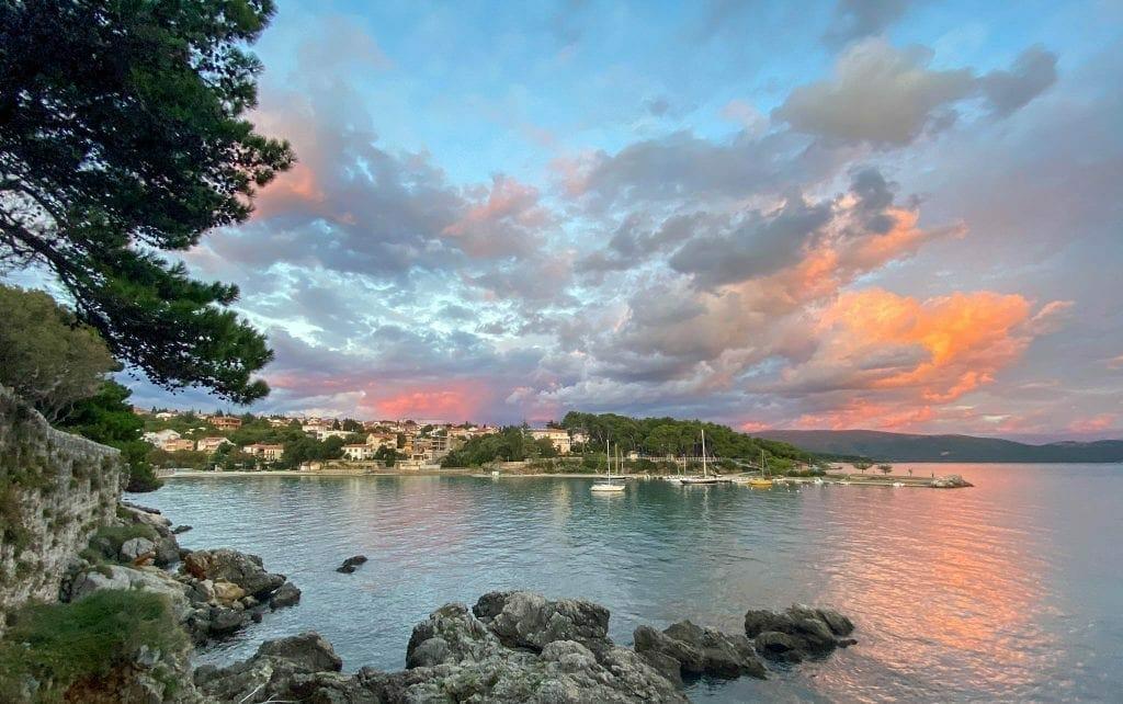 KRK Sunset Croatia Inspiration