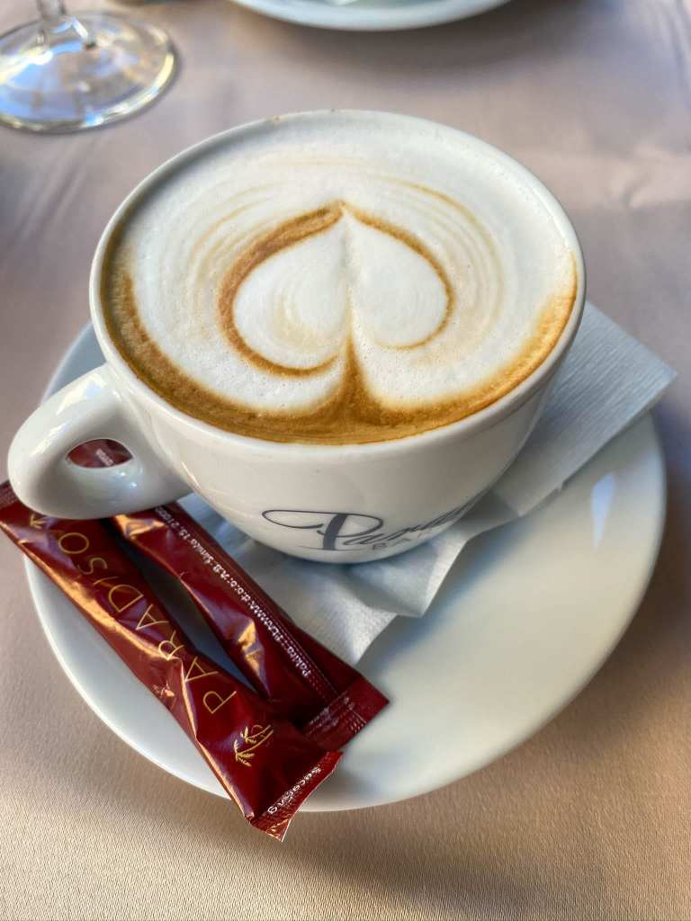 Cappuccino Dining Abroad Croatian Cuisine