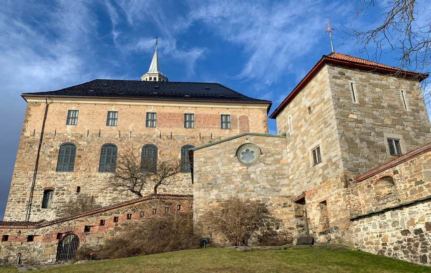 Oslo Norway Akershus Castle