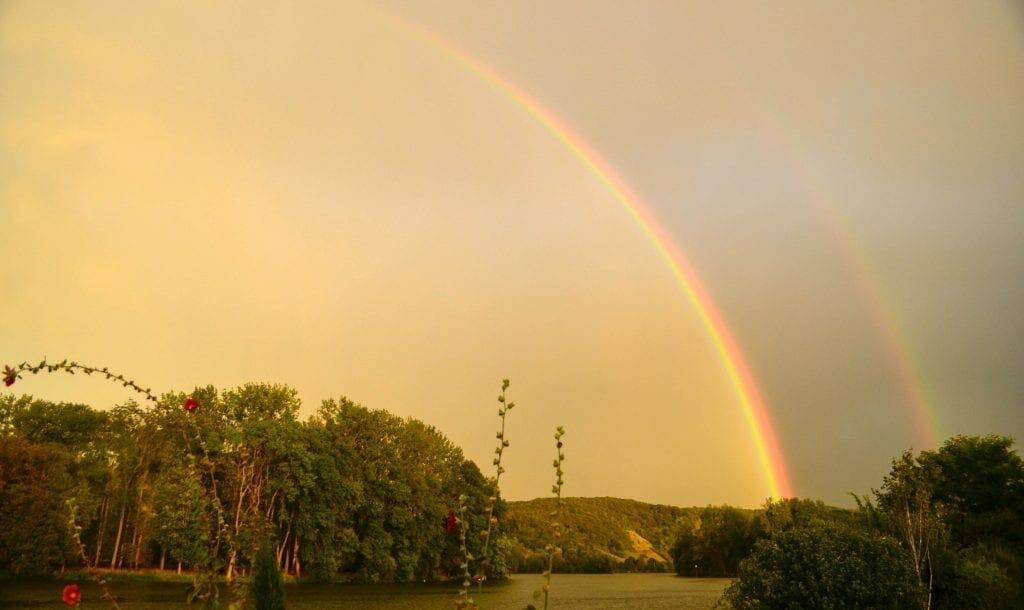 Rainbow on the Seine