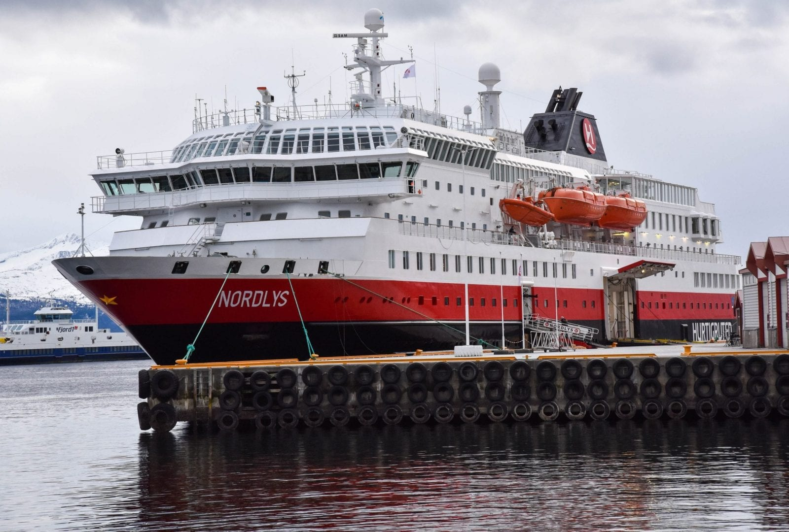 Nordlys, Hurtigruten Ship, Norway