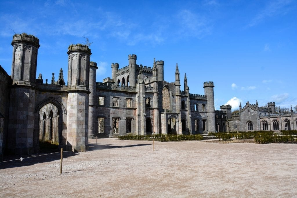 Lowther Castle UK