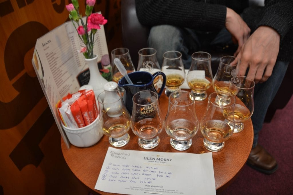 Scotland Whisky tasting Dining Abroad