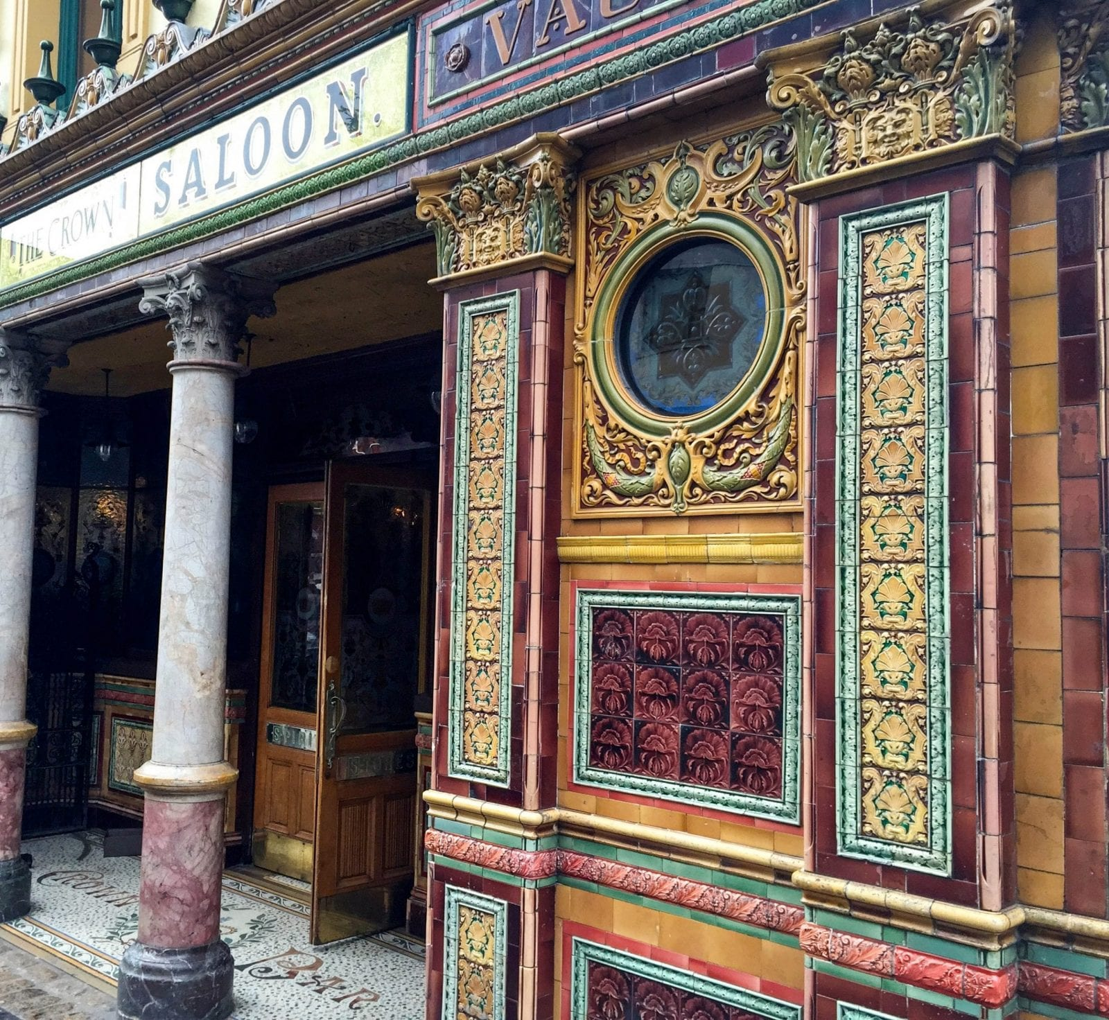 The Crown Liquor Saloon Belfast Northern Ireland