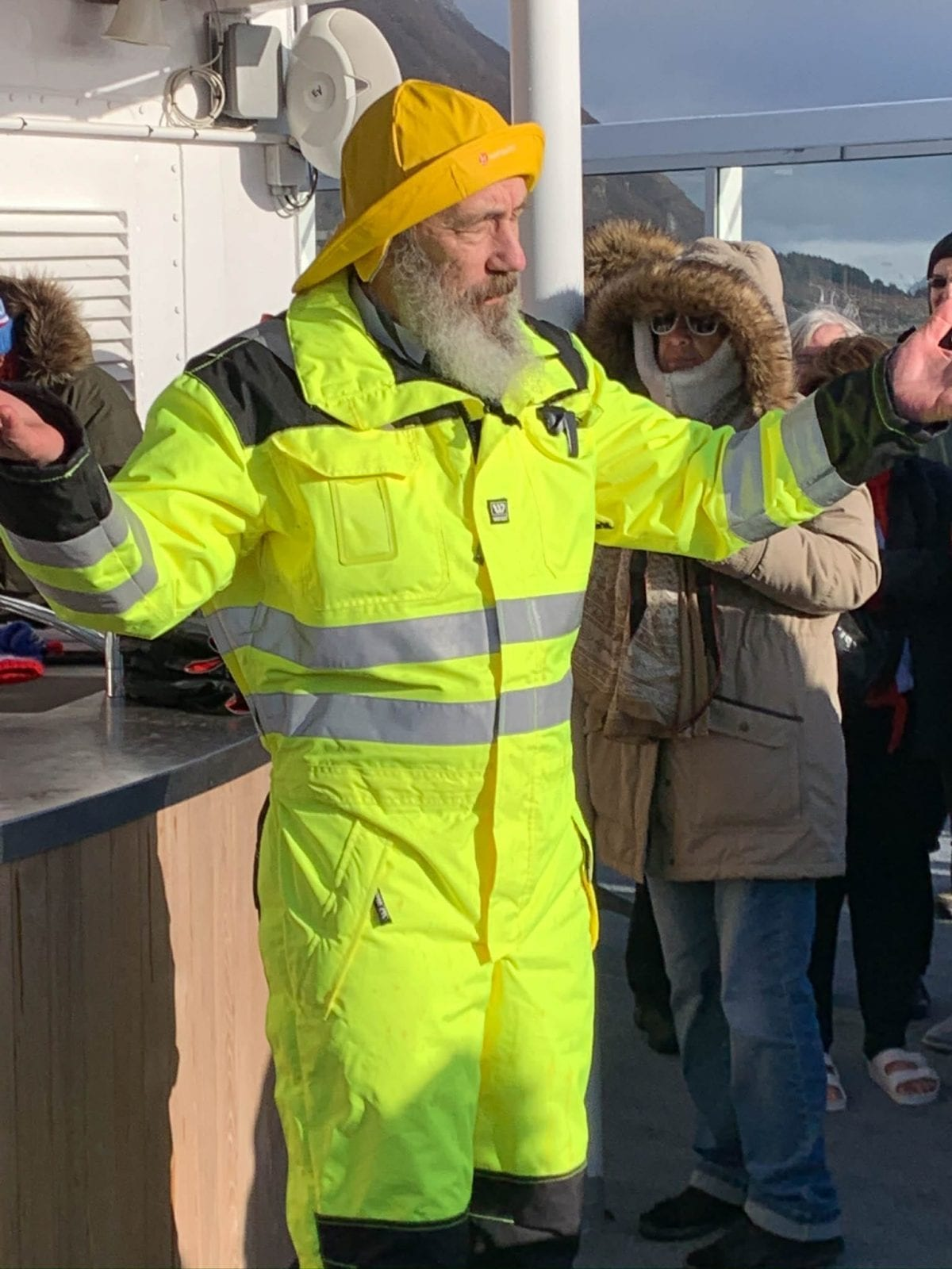 Norwegian Ship Captain