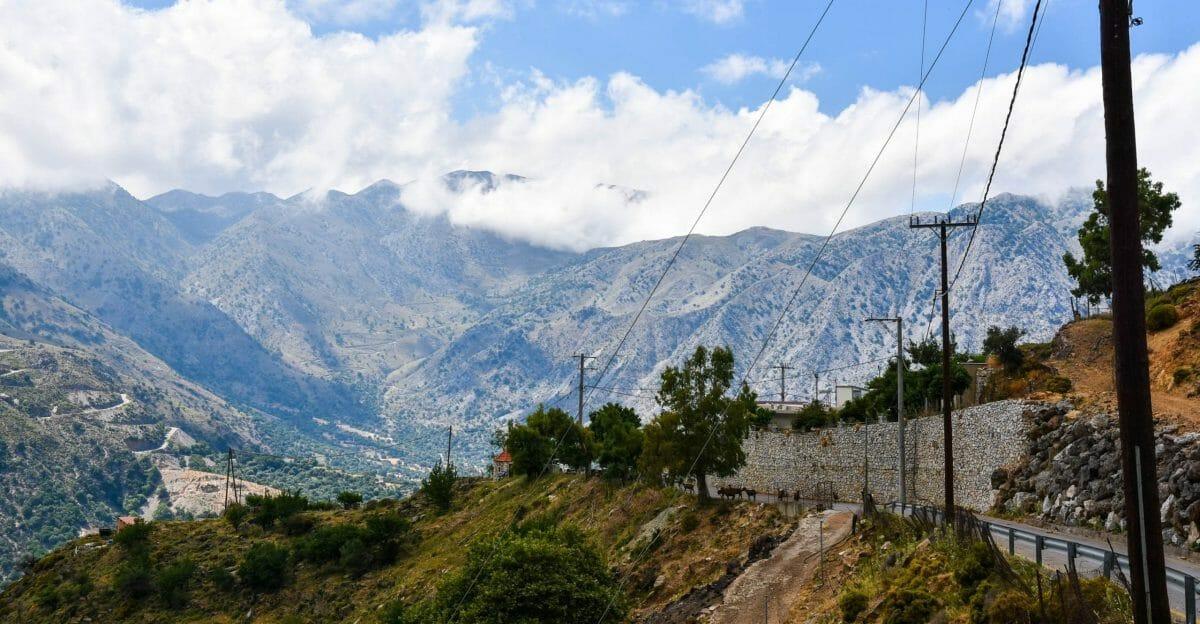 Mountains of Crete