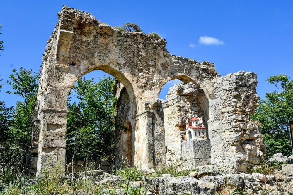 Ancient church, Crete