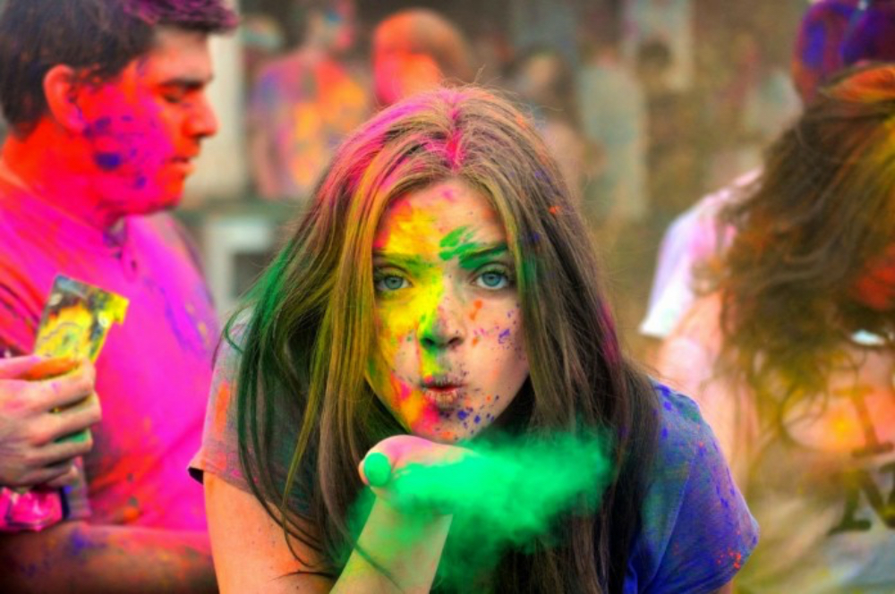 happy holi in india