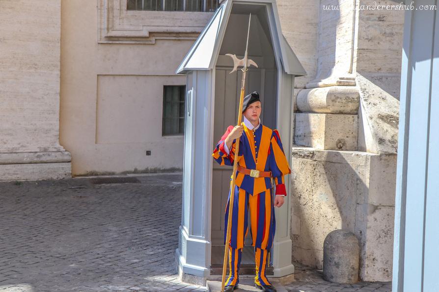 Roman Guards Vatican Rome