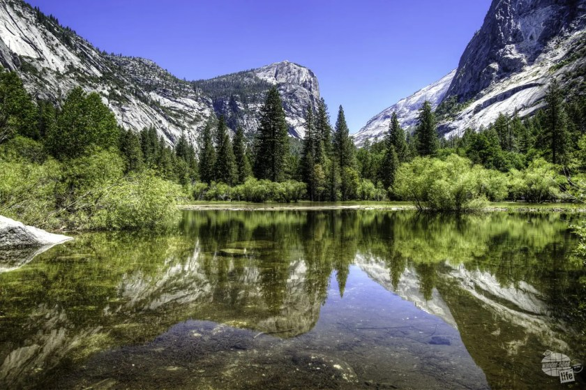Mirror Lake really is a must-see stop along the Yosemite Valley Loop