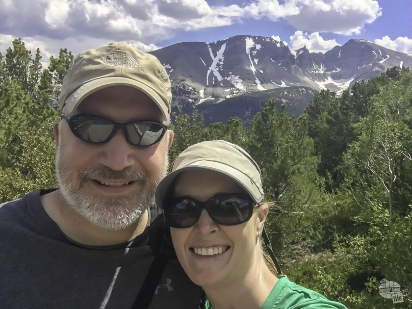 Selfie time at Great Basin National Park.