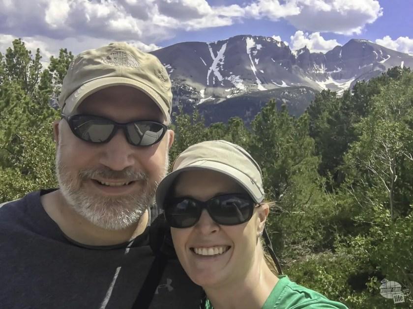 Selfie time at Great Basin National Park.