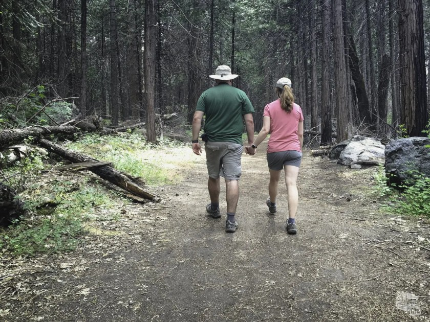 Long, but easy hikes are our favorite following the heart attack!