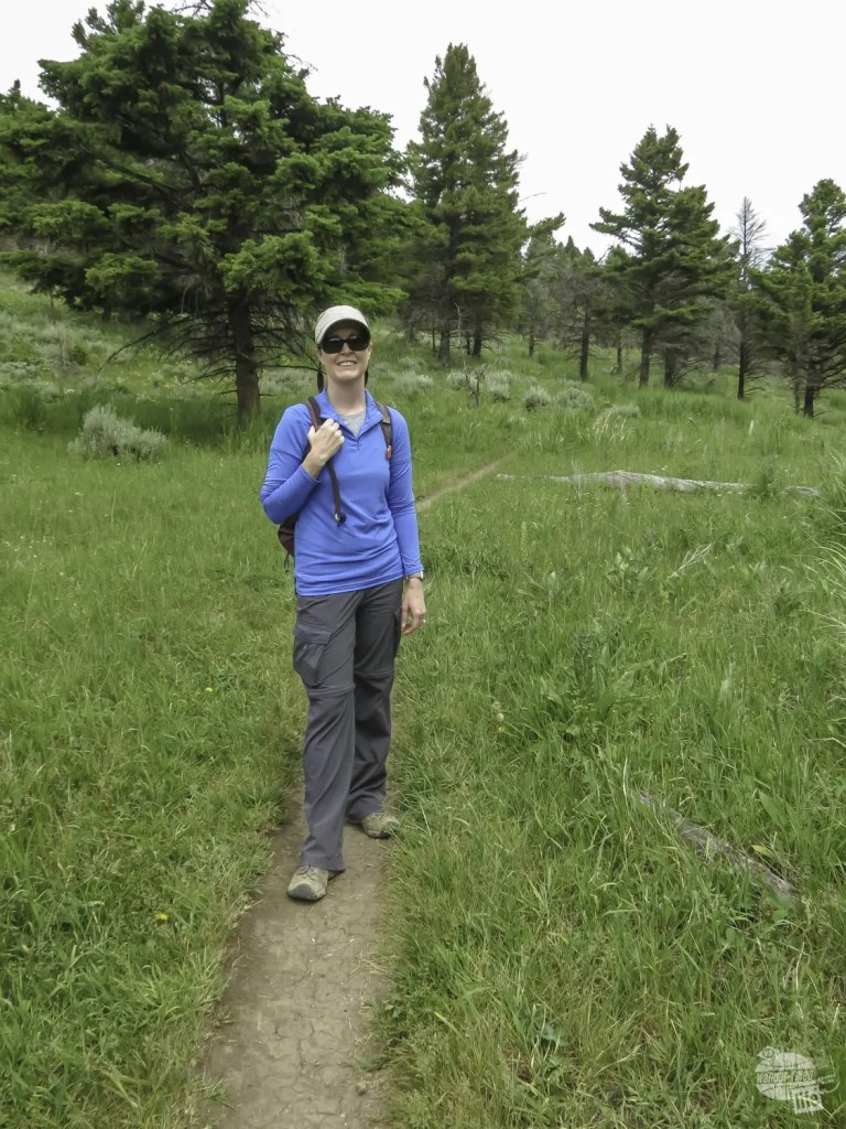 A Yellowstone hike gets you away from the crowds and into the wilderness.