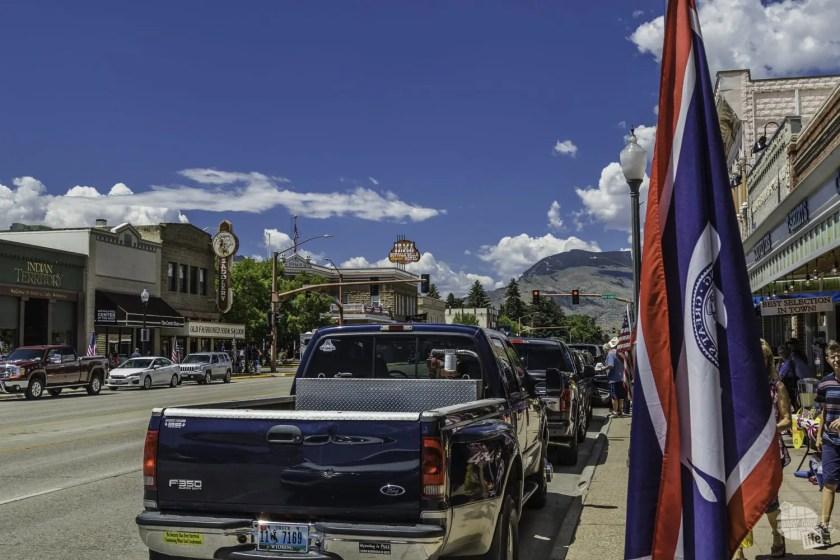 Downtown Cody Wyoming