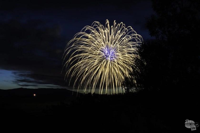 Fireworks at Cody