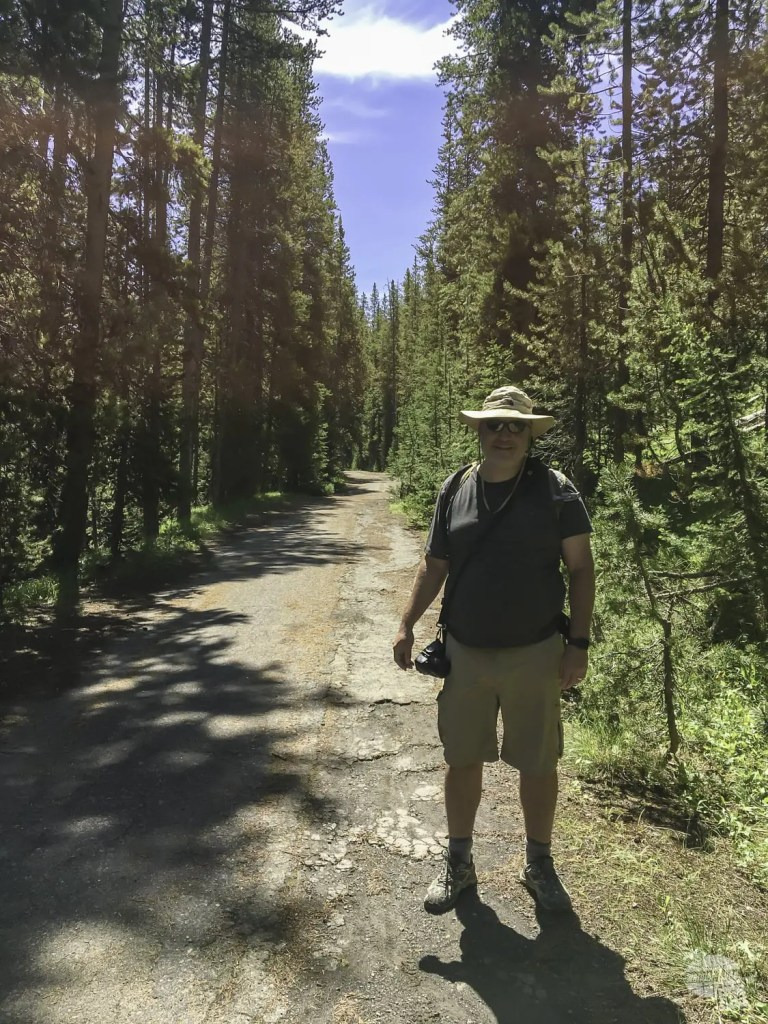 One of the easiest Yellowstone hikes to a geyser.