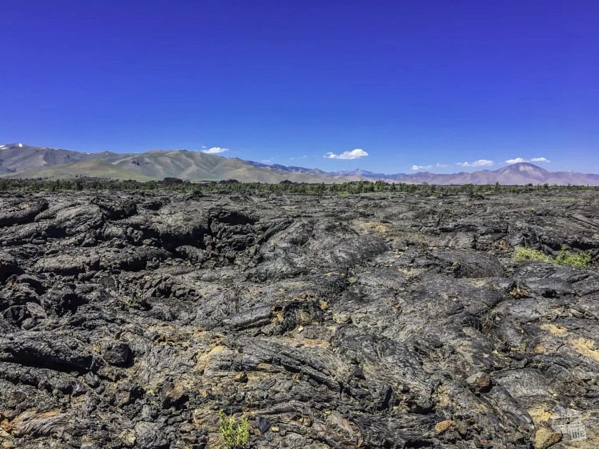 Lava fields at Craters of the Moon National Monument