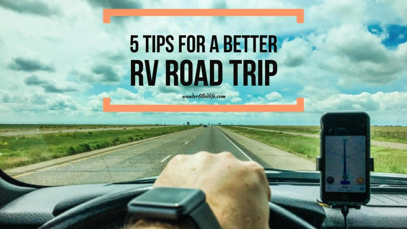 Five Tips for a Better RV Road Trip