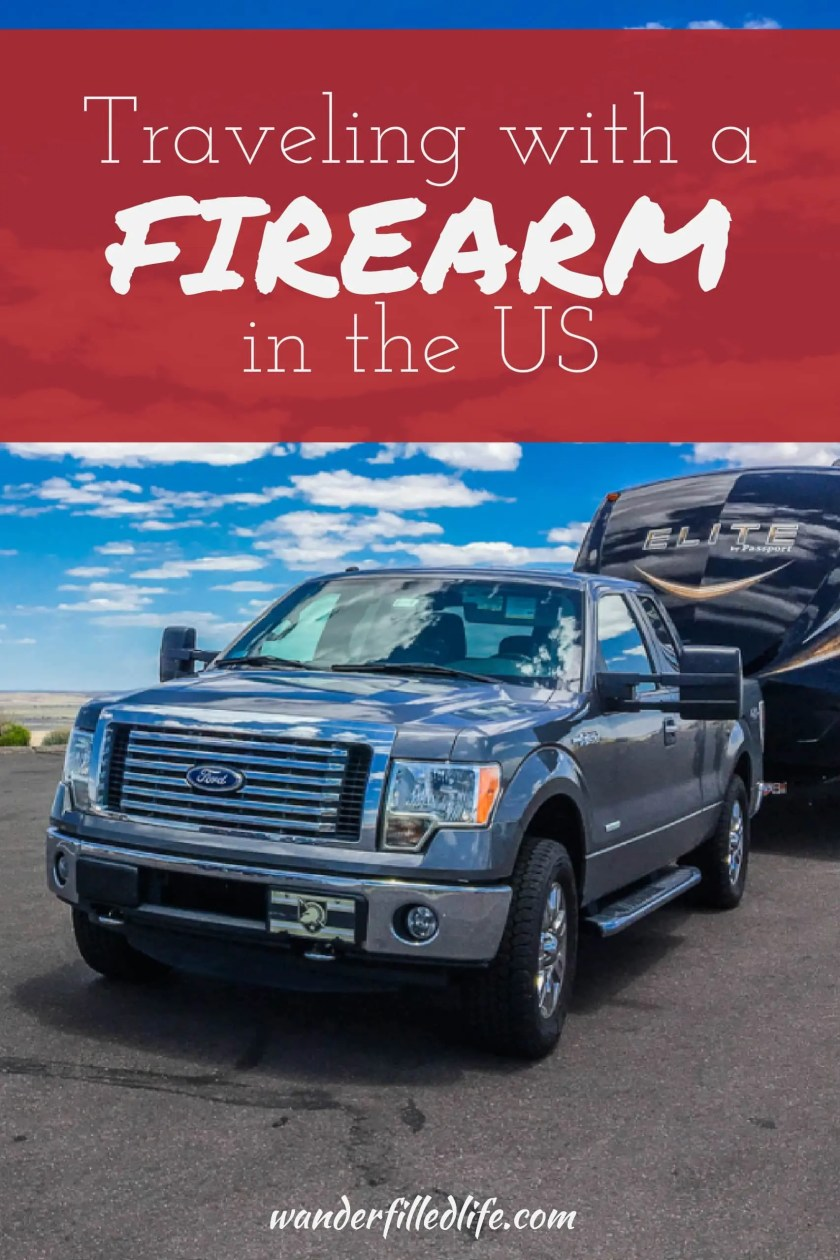 The ins and outs of traveling with a firearm in the US, including how to find the best way to legally travel with a firearm on a road trip.