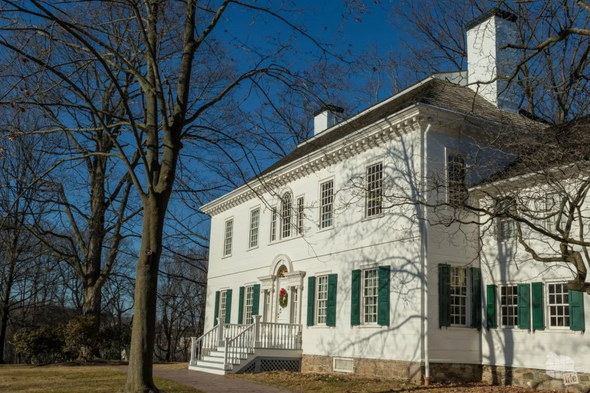 The Ford Mansion at Morristown NHP.