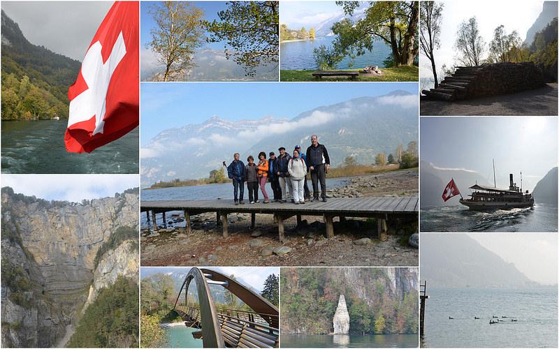 Wandern am Urnersee Weg der Schweiz