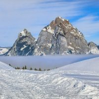 Mi., 16.01.19 - Winter-Panoramawanderung, Mostelberg, Sattel-Hochstuckli
