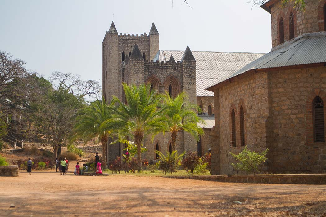 Likoma St Peter Church outside