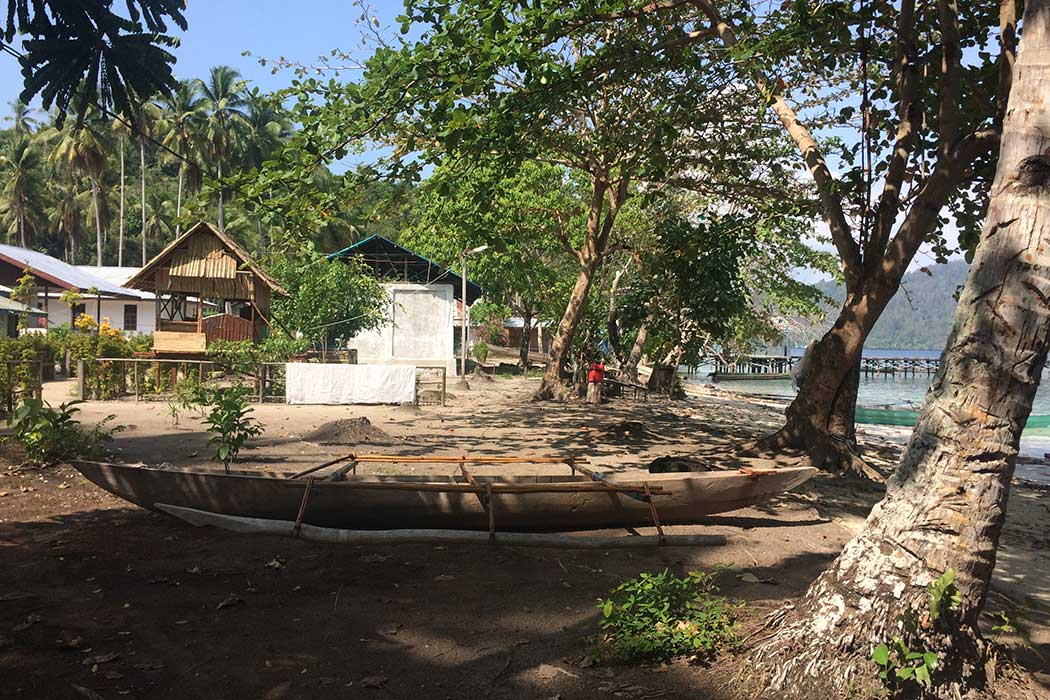 Papouasie village maisons