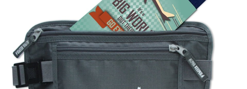 Alpha Keeper best money belt for travel
