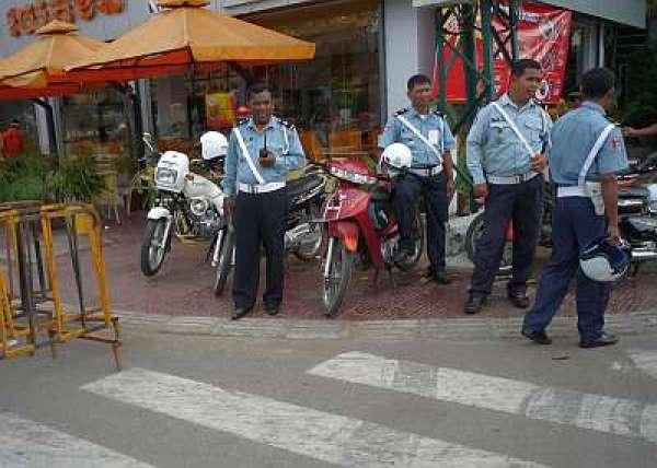 cops in cambodia